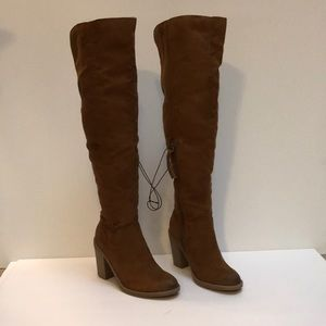 Dolce Vita over knee brown boots size 6 new